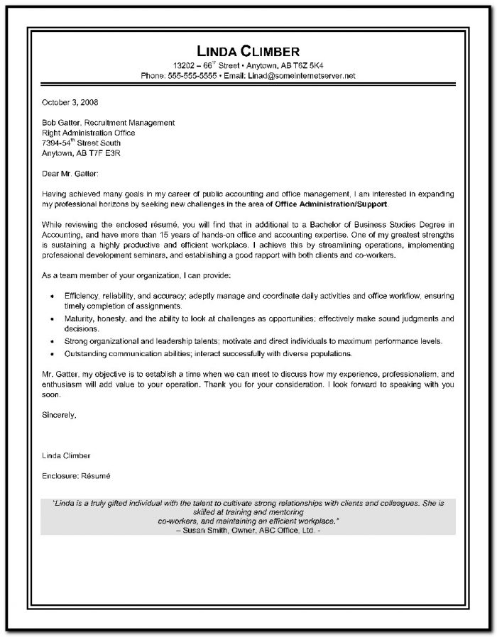 Free Cover Letter Templates For Microsoft Word 2007