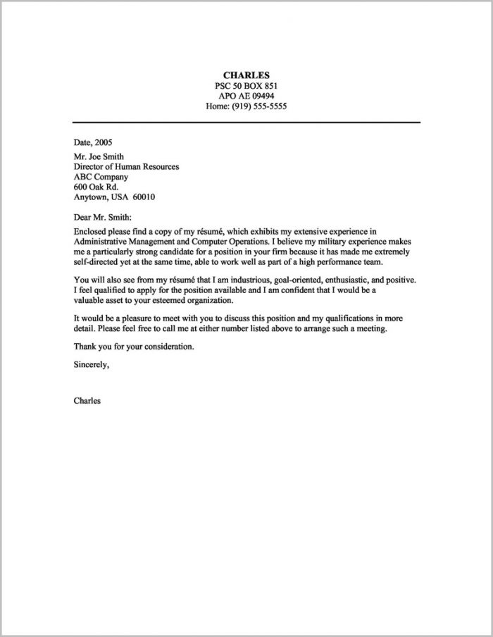 Resume Cover Letter Examples Executive Assistant