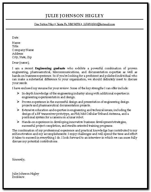 Sample Cover Letter For Resume Entry Level