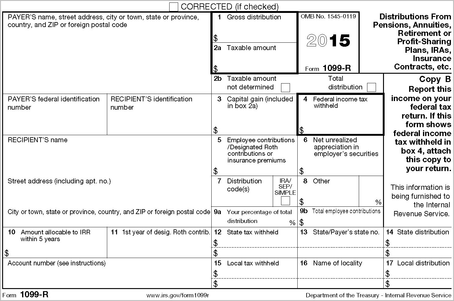 1099 Misc Form Example