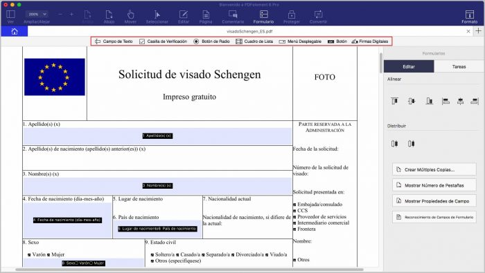 Create Fillable Pdf Form Email