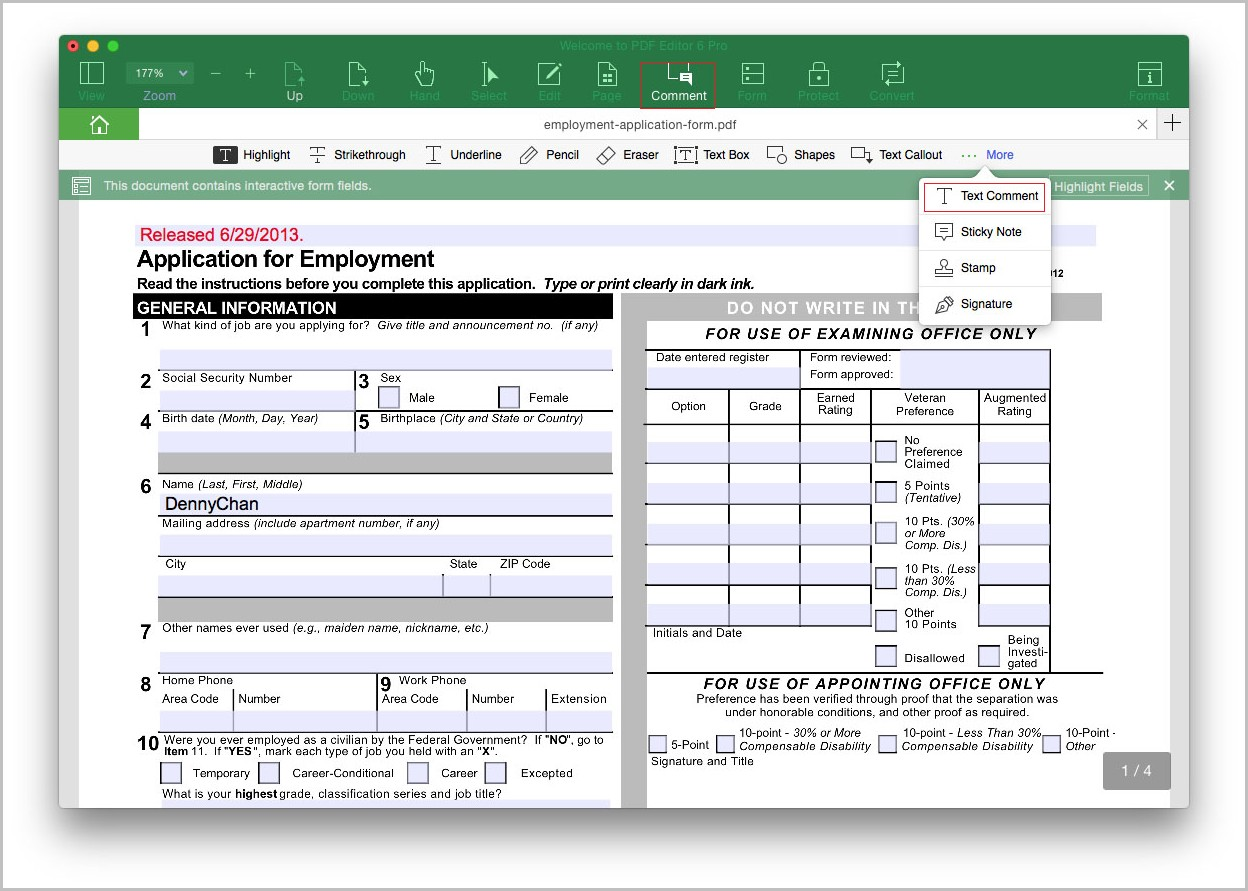 Create Fillable Pdf Forms In Word