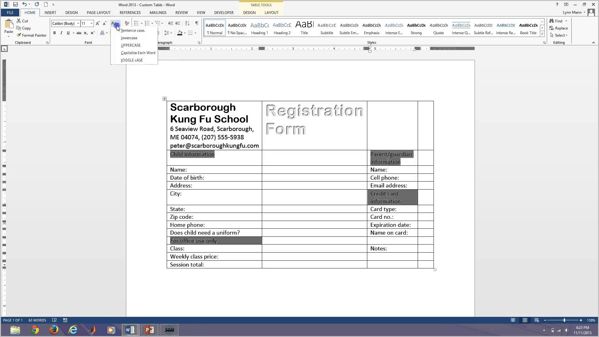 How To Create Fillable Pdf Forms In Word 2013