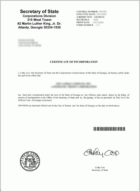 How To Form An Llc In The State Of Georgia