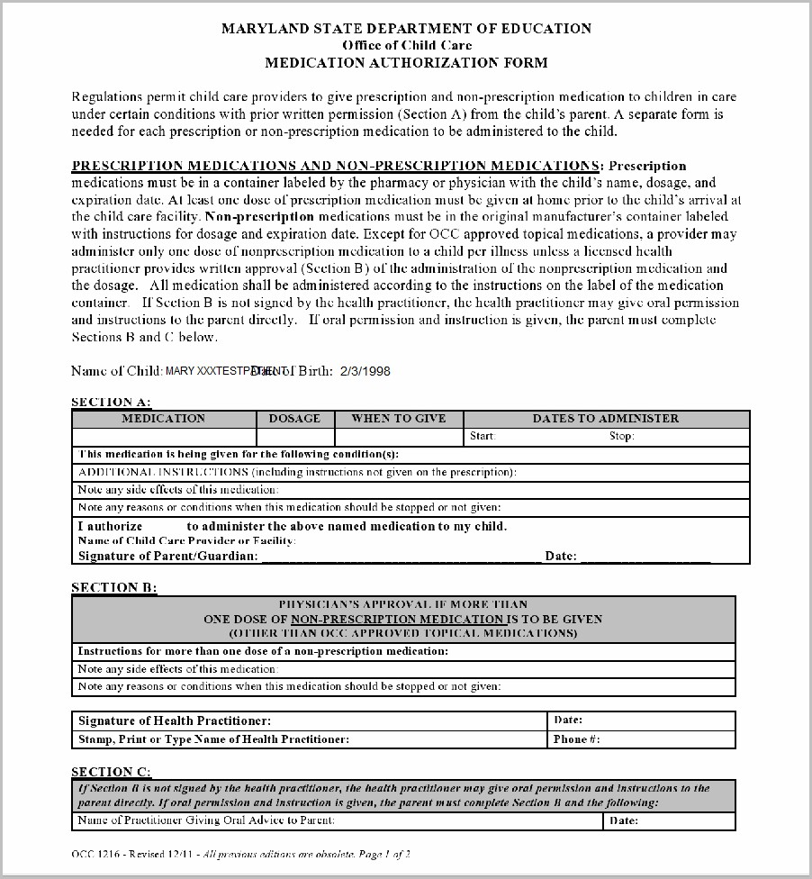 Medicaid Application Form Ct