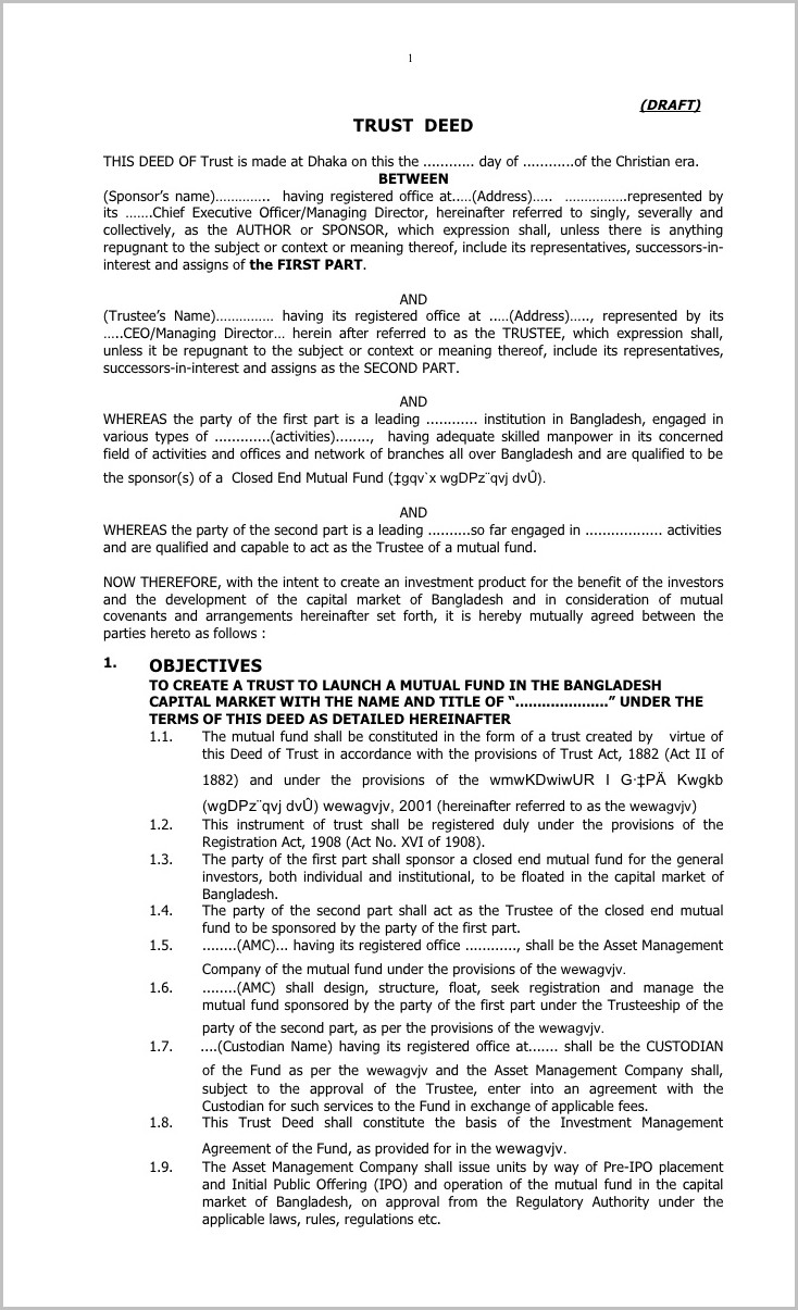 New Hampshire Warranty Deed Form
