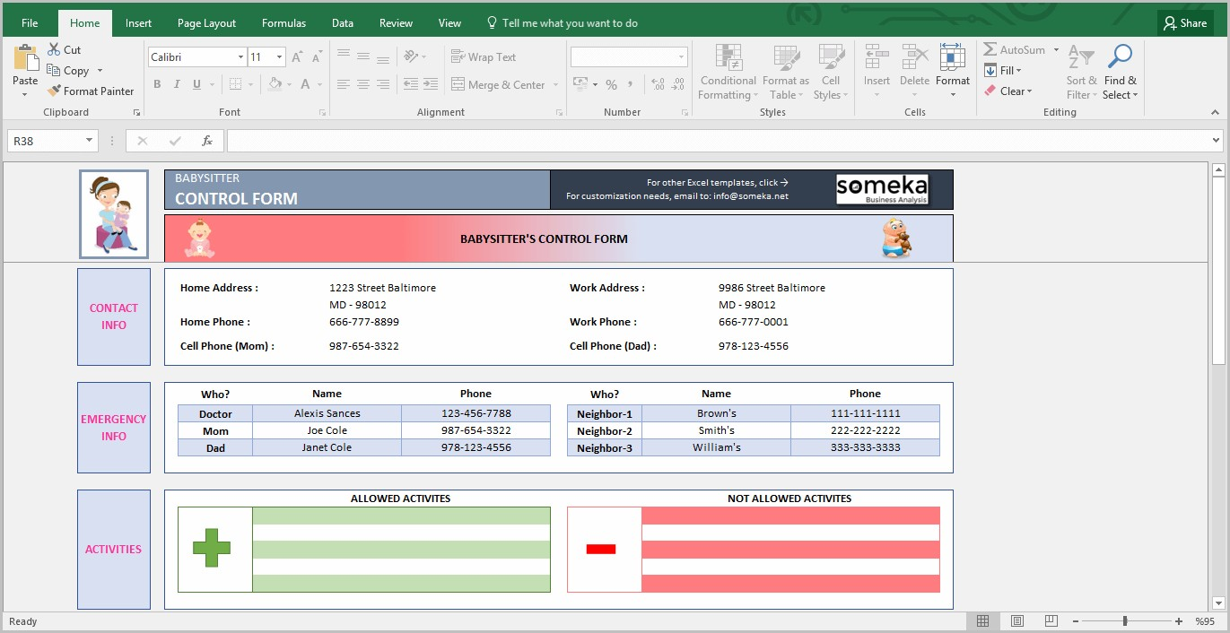 Use Microsoft Excel To Create Fillable Pdf Forms
