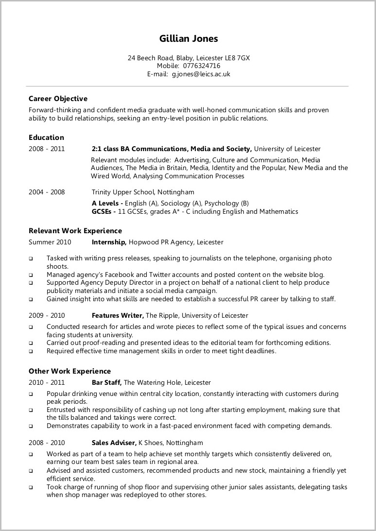 Best Cv Writing