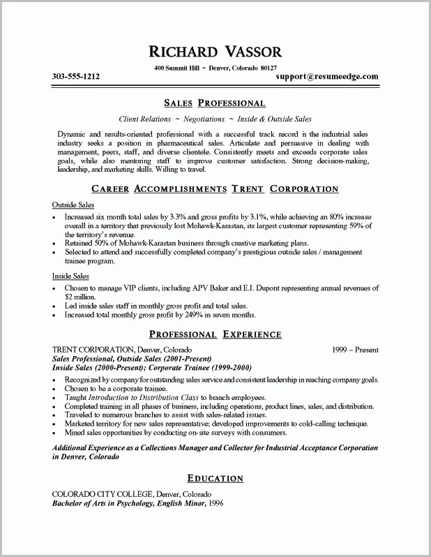 Free Resume Templates And Print