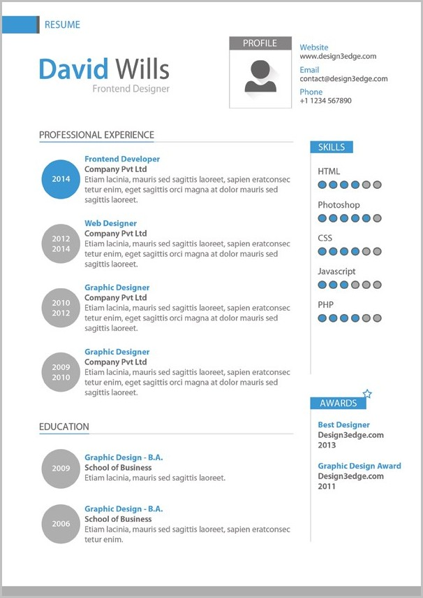 Free Resume Templates Word Free Download