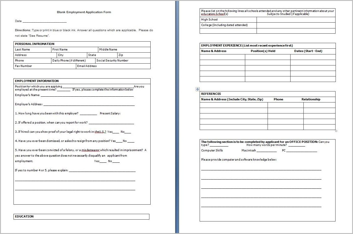 Hibbett Sports Job Application Printable