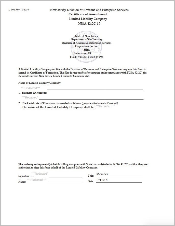How To Form A 501c3 In New Jersey