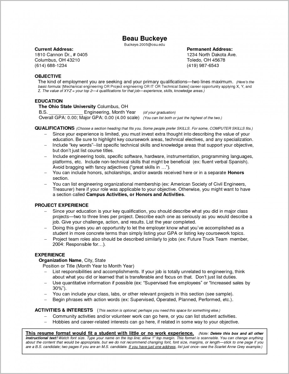 Sample Resume Doctor Experience Certificate 1 Year Experience Pertaining To Sample Resume Download