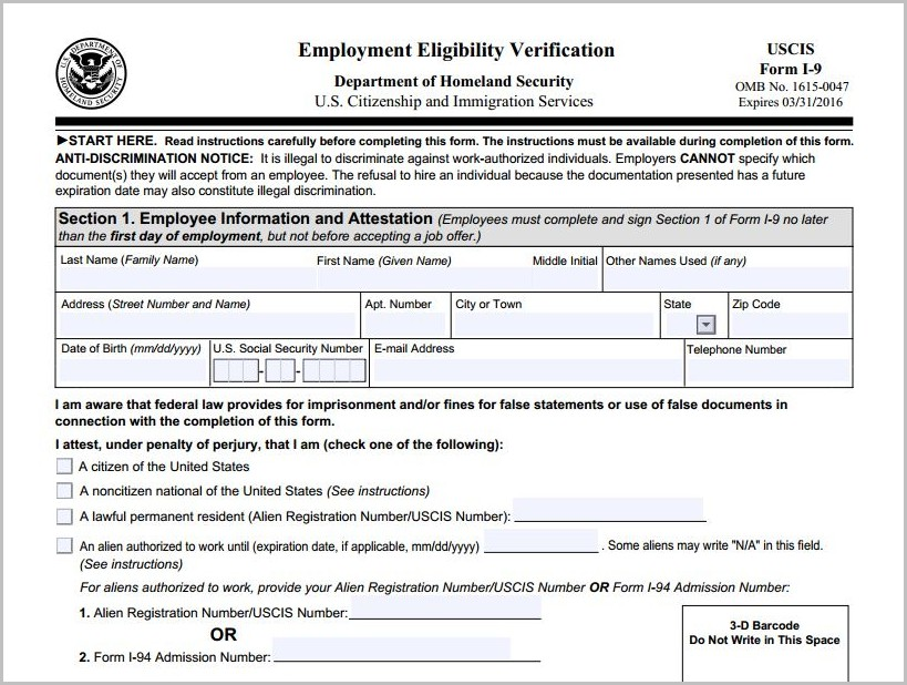 Printable Job Application Form Target
