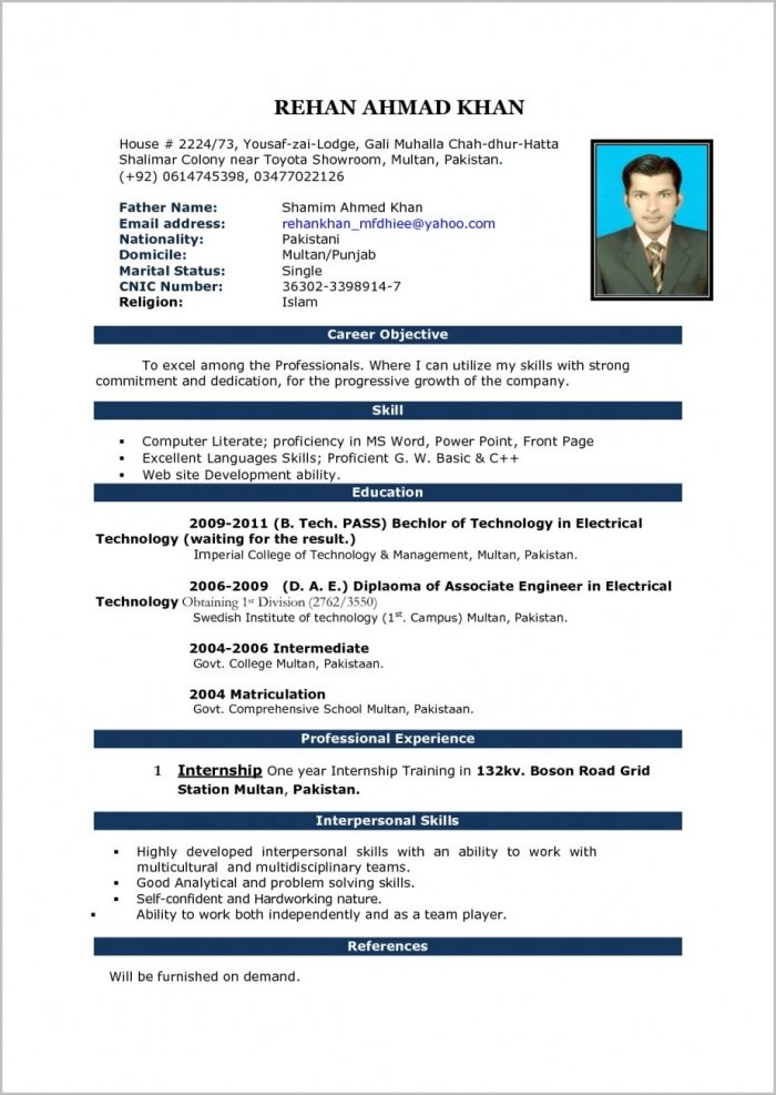 Sample Resume Format Word Document How To Write A Cover Letter And Pertaining To What Is Ms Word Format Resume