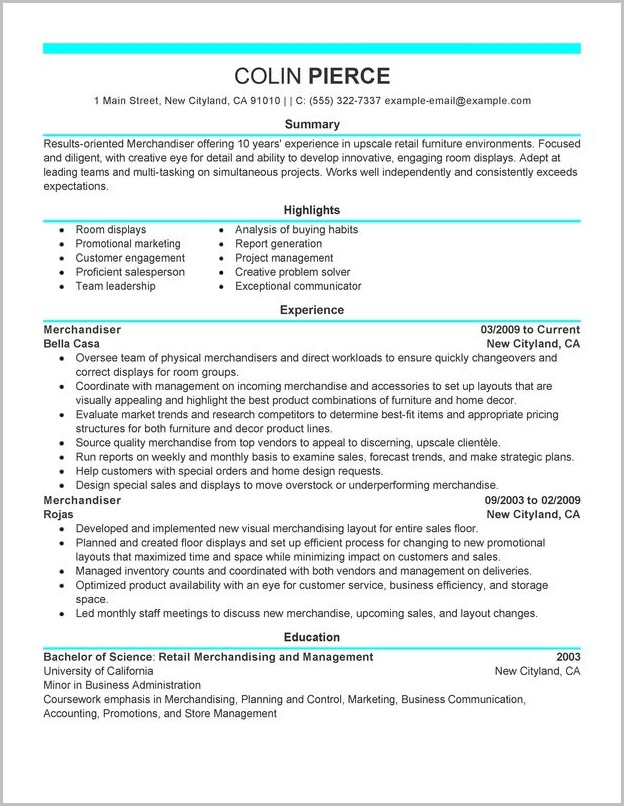 Resume Template Word Buy