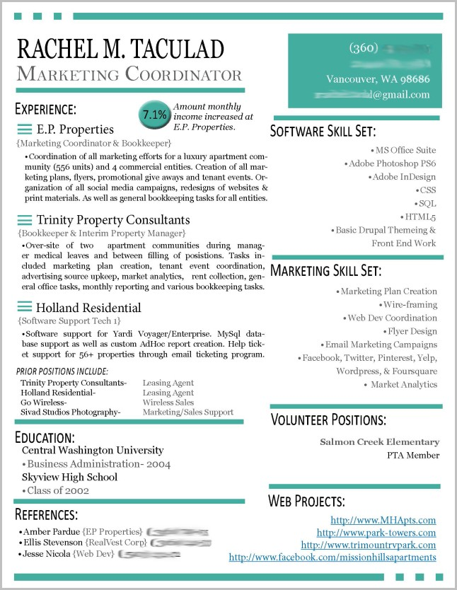 Resume Templates On Word 2013