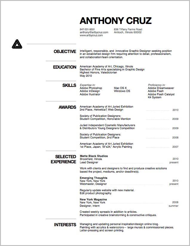 Resume Templates Word Pdf