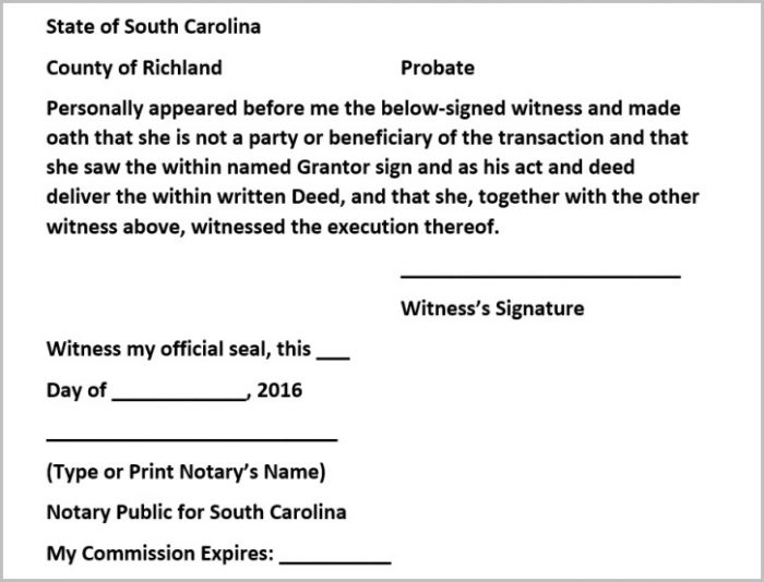Richland County Sc Divorce Forms