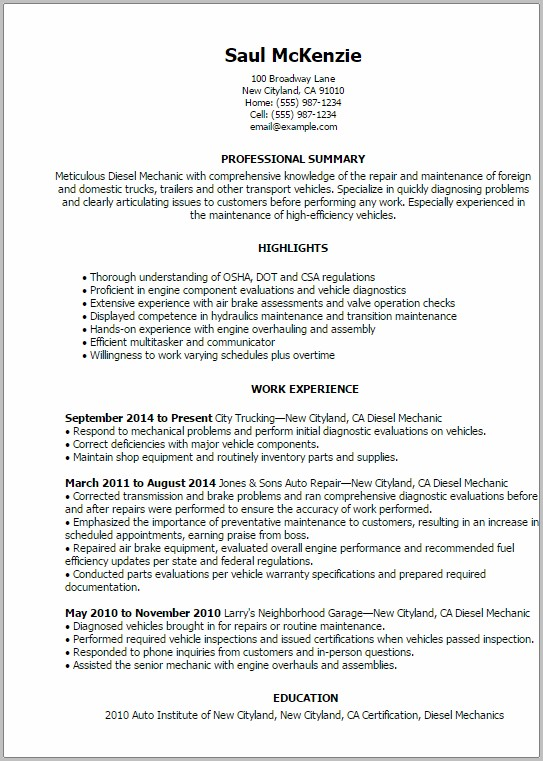 Sample Resume For A Military To Civilian Transition