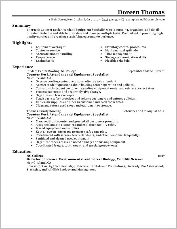 Surgical Tech Resume Summary