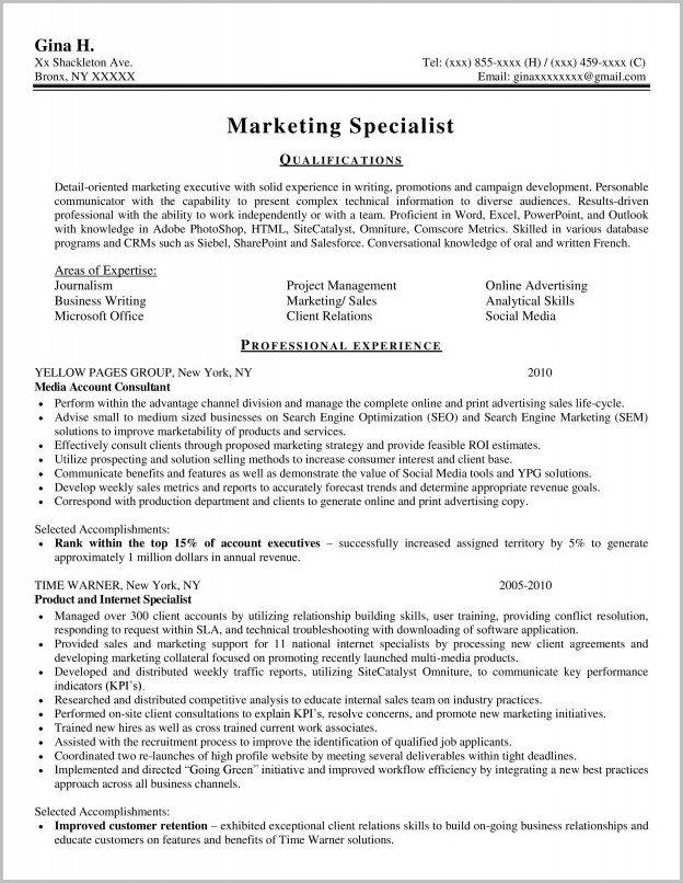 Professional Resume Writers In Nyc
