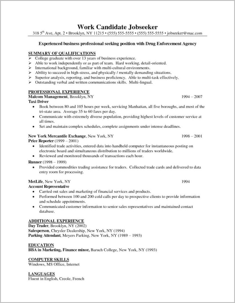 Resume Template For Word Mac 2008