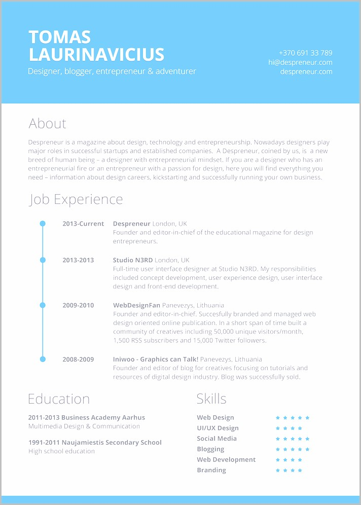Resume Templates For Mac Word 2011