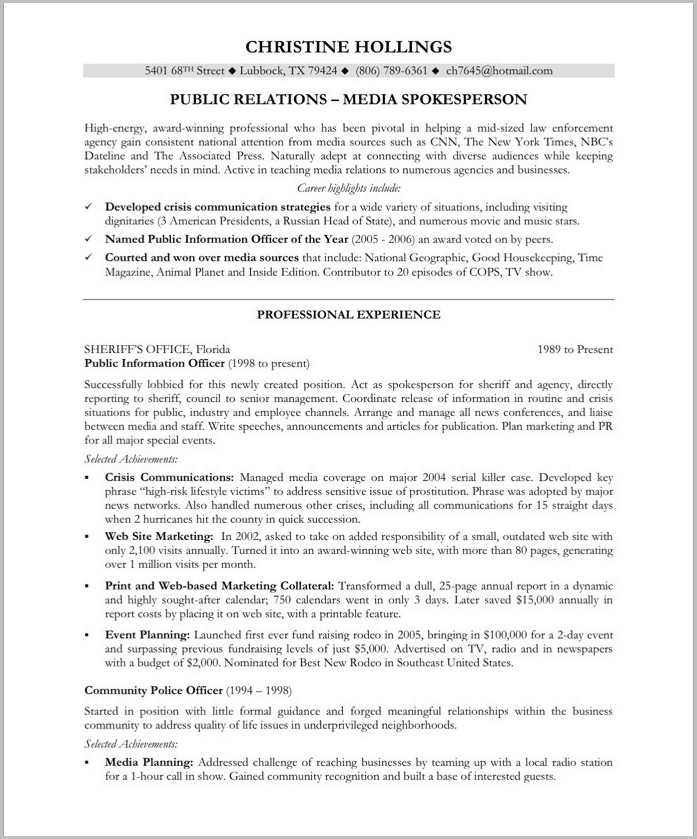 Sample Of Professional Objectives In Resumes