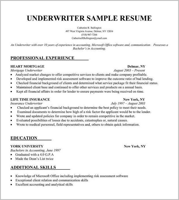 Free Resume Builder No Registration
