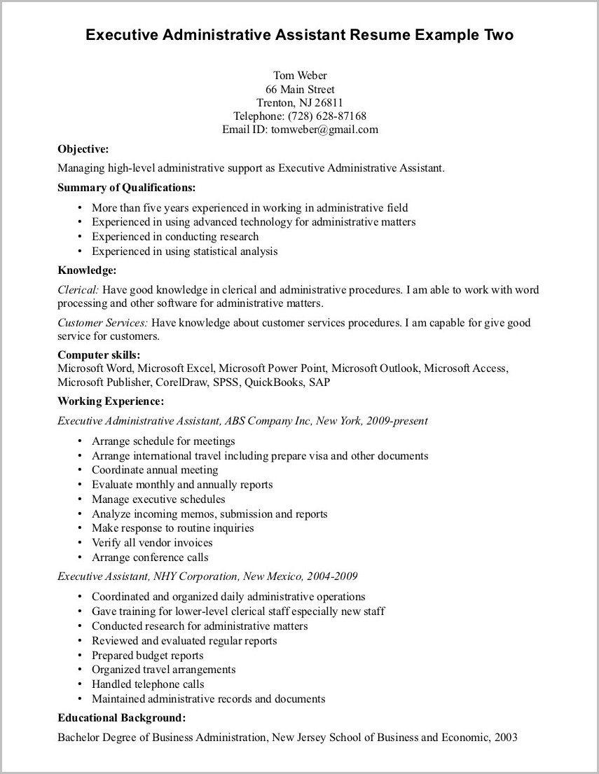Professional Summary On Resume For Medical Assistant