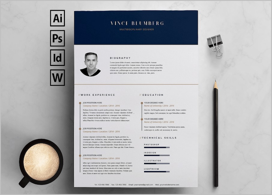 Word Templates Of Resume