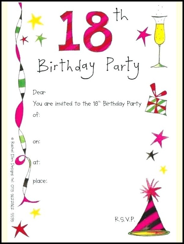 Birthday Invitation Maker Download