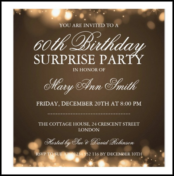Birthday Invitation Templates Editable