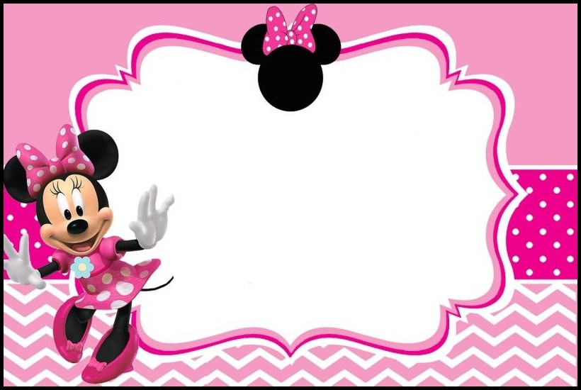 Birthday Invitation Templates Minnie Mouse