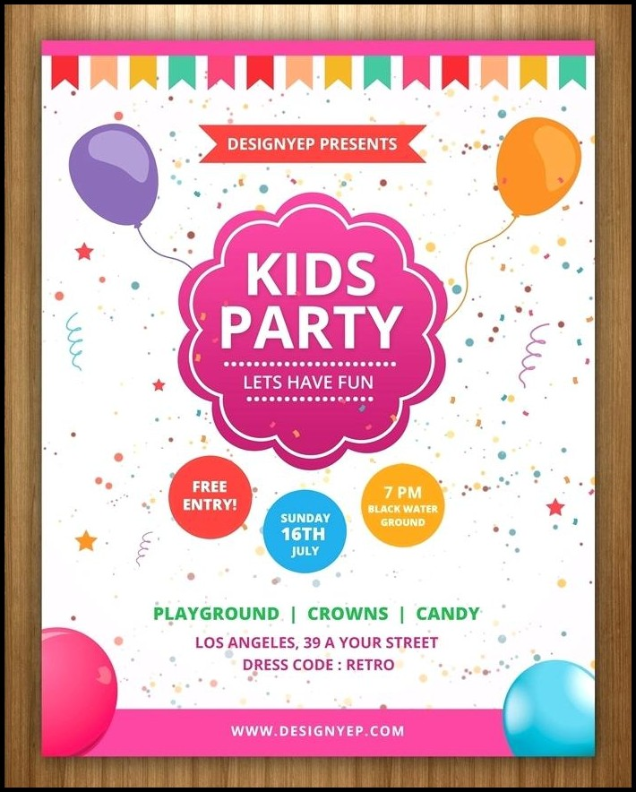 Free Birthday Invitation Templates Australia