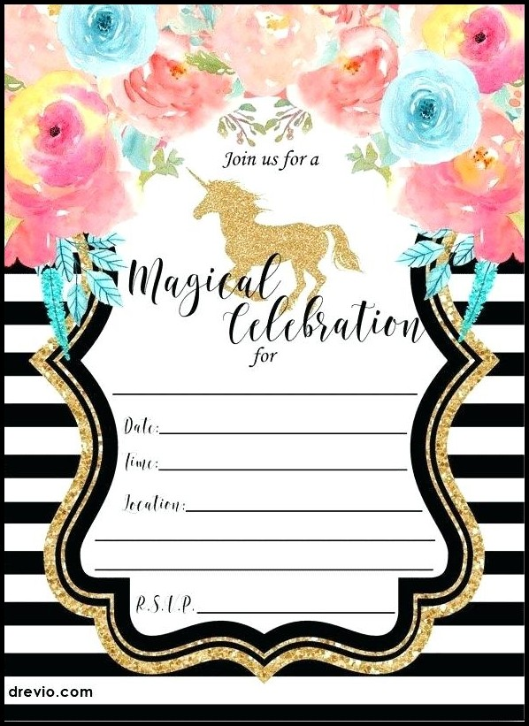 Free Birthday Invitation Templates Nz