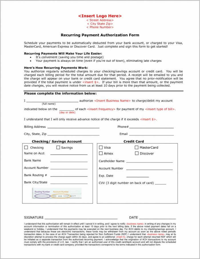 Ach Setup Form Template