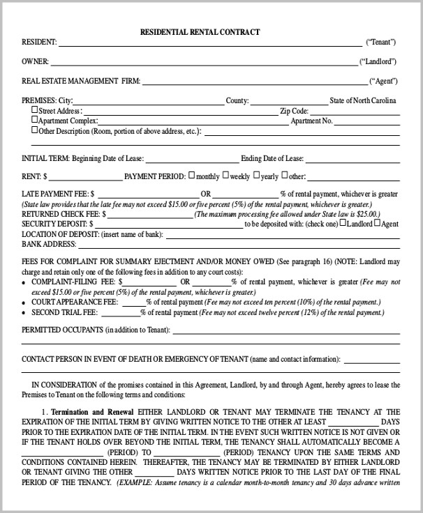 Georgia Real Estate Contract Forms Free