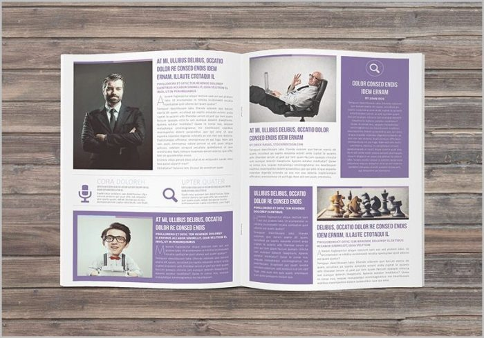 Newsletter Layout Indesign