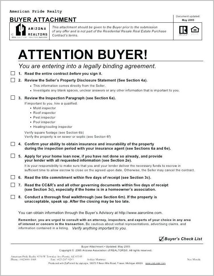 Real Estate Sales Contract Template Virginia