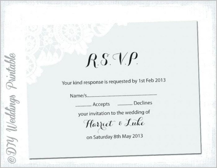 Wedding Reception Invitation Templates Word