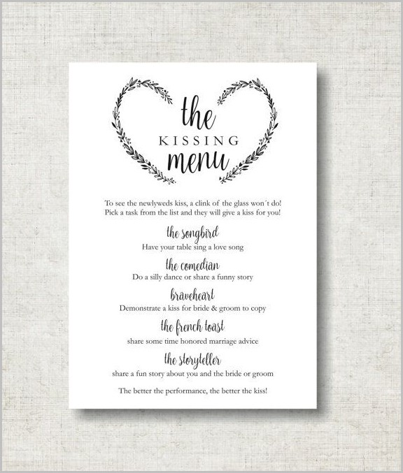 Wedding Reception Sign Templates