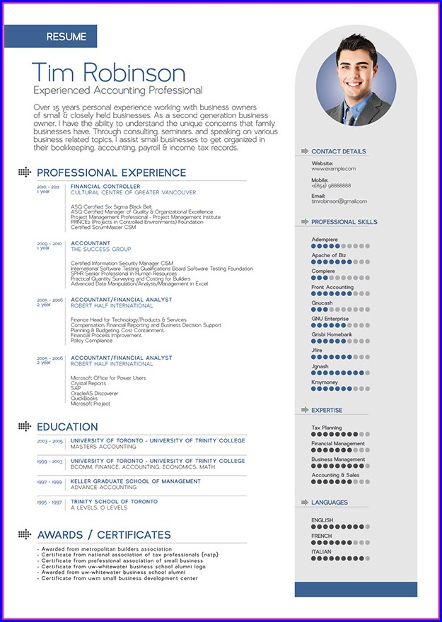 Best Free Resume Templates For Word