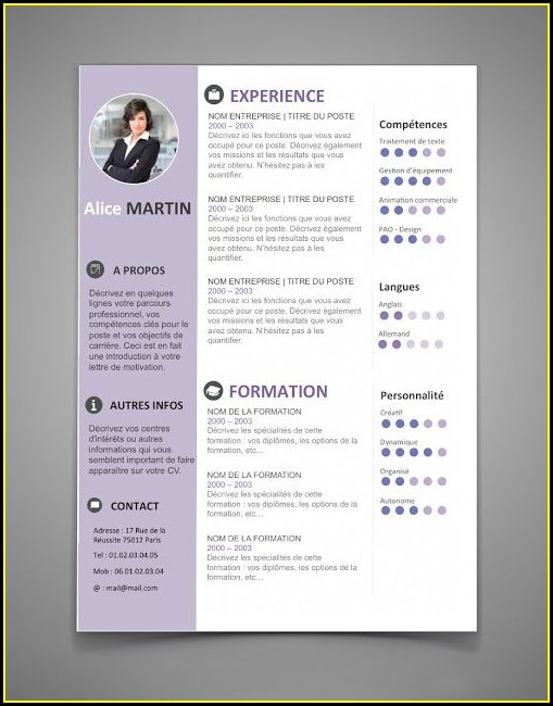 Resume Templates Word Free Download 2017