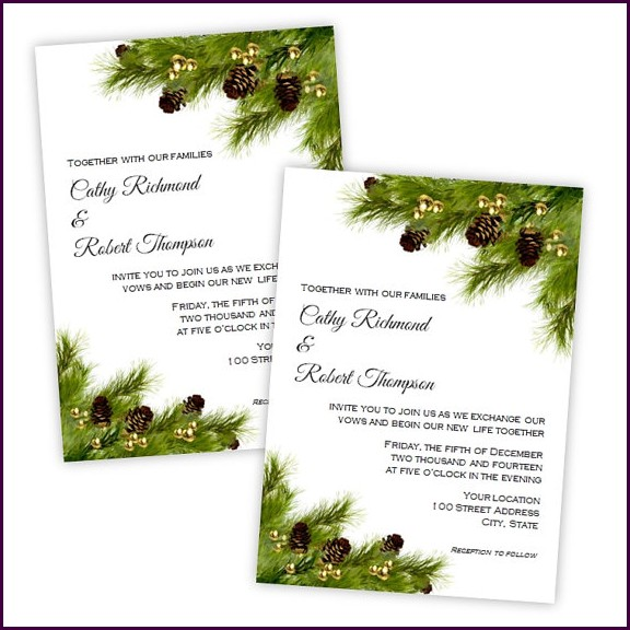 Christmas Party Invitation Template Microsoft Word