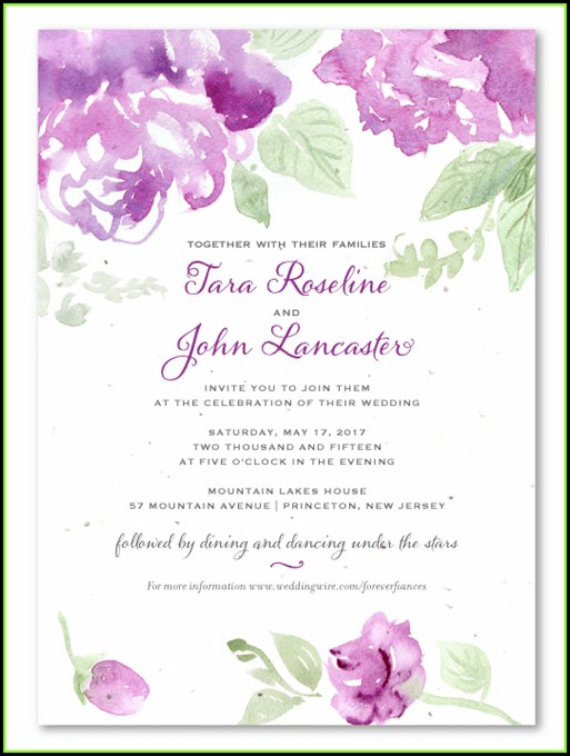 Free Online Marriage Invitation Templates