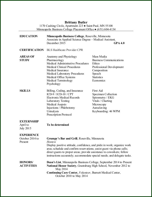 Rn Nursing Resume Template