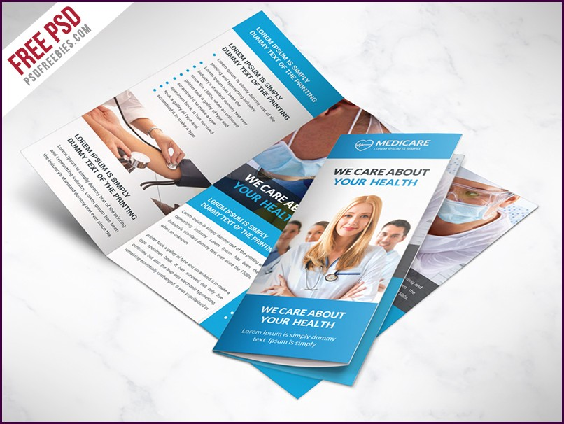 Tri Fold Brochure Template For Free