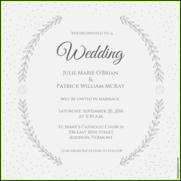 Wedding Invitation Templates In Word